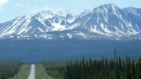 Entering Kluane National Park -  The Final Approach